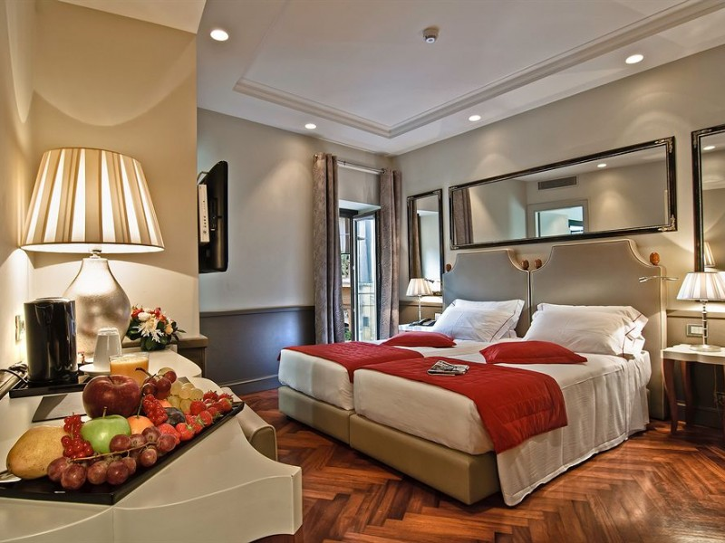 Hotel lunetta boutique hotels rome for Boutique rome