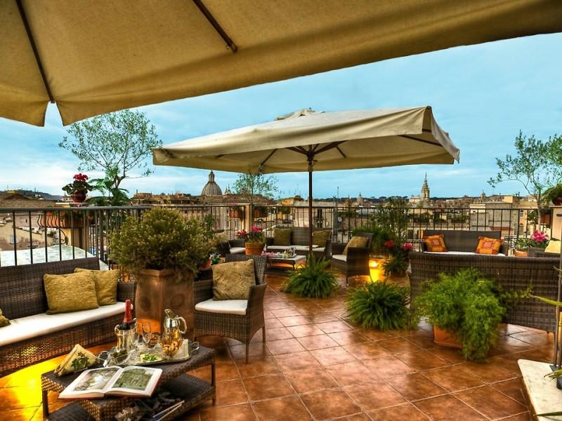 Boutique hotel campo de 39 fiori rome for Design boutique hotels rome