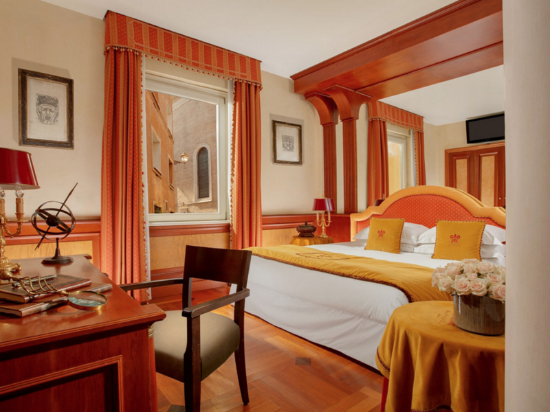 Piazza navona boutique hotels rome for Boutique rome