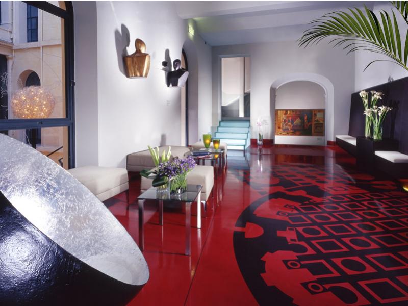 The Lobby at Art Hotel Rome