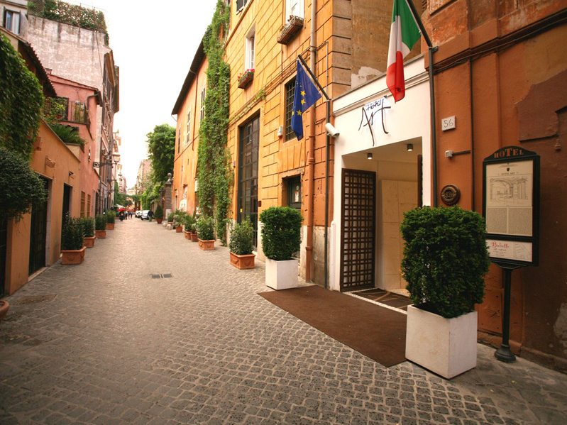 Exterior in Via Margutta Rome