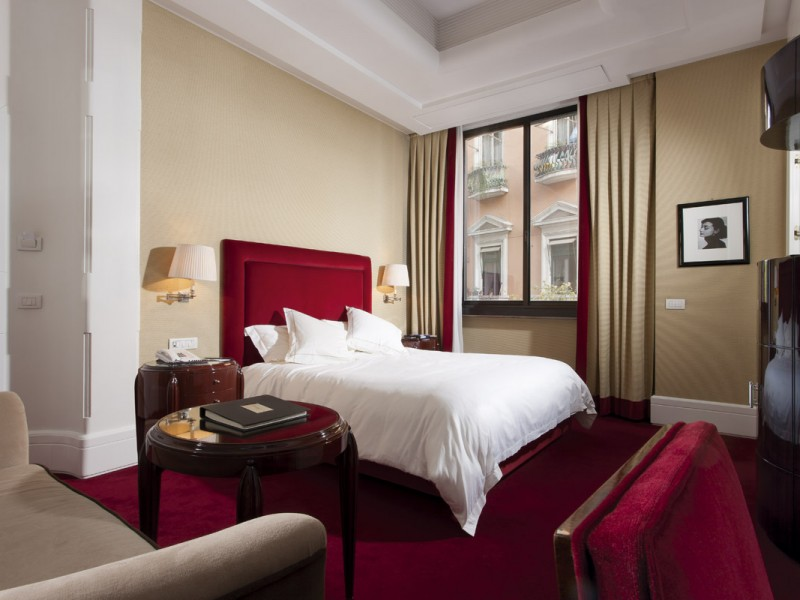 Hotel lord byron boutique hotels rome for Best boutique hotels in rome 2015