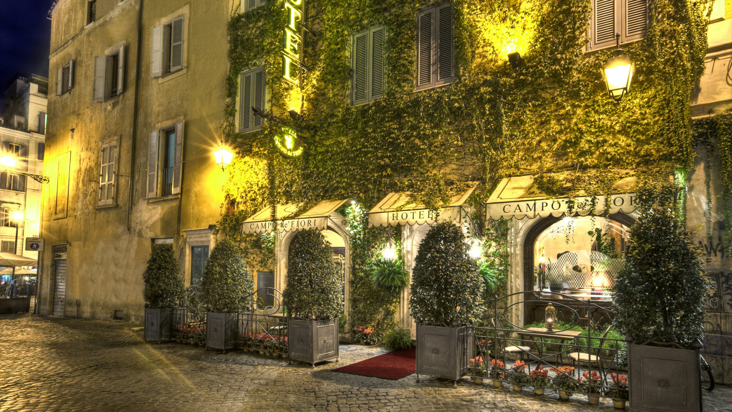 Hotel san anselmo boutique hotels rome for Boutique rome
