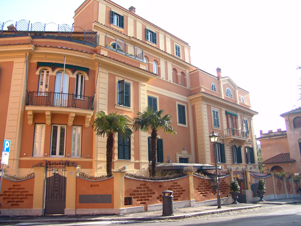 San Anselmo boutique hotel in Rome