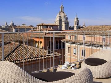 Rome luxury boutique hotel palazzo navona