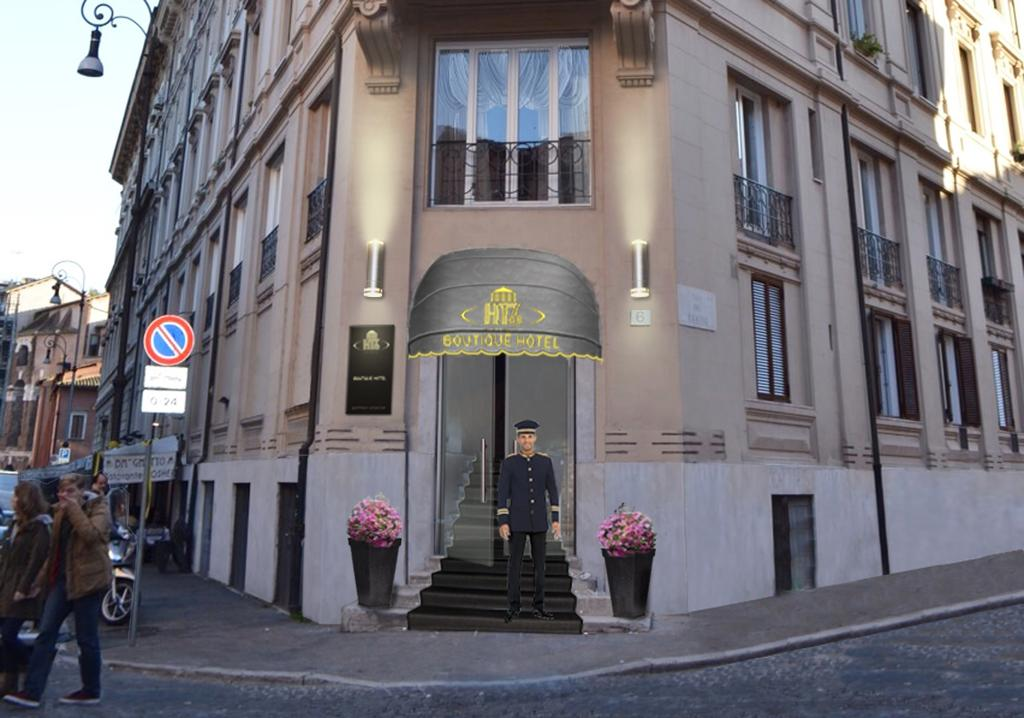 Hotel san anselmo boutique hotels rome for Hotel boutique rome