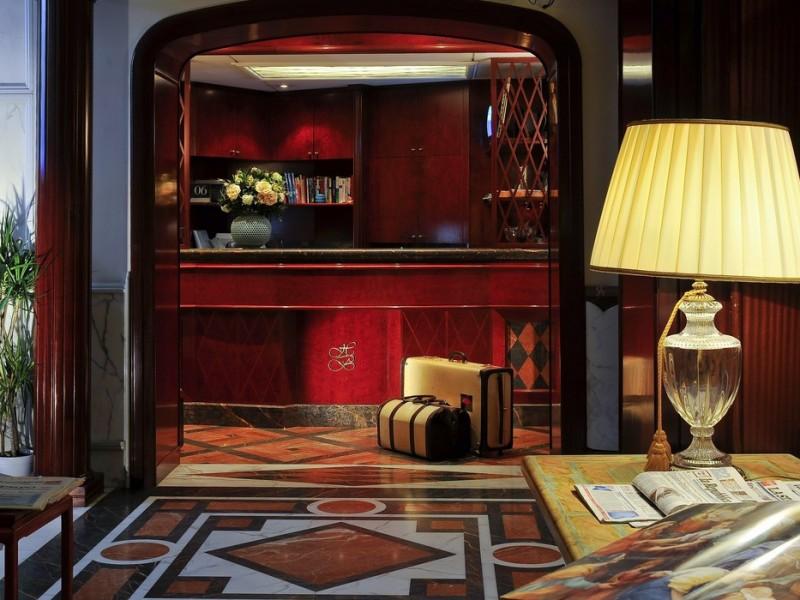 Britannia hotel roma boutique hotels rome for Hotel roma boutique rome